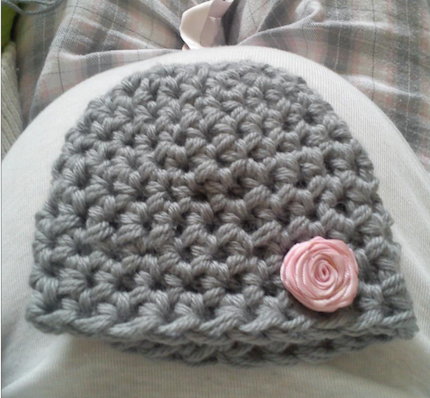 Gorro em crochet