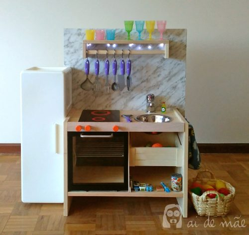 DIY children kitchen