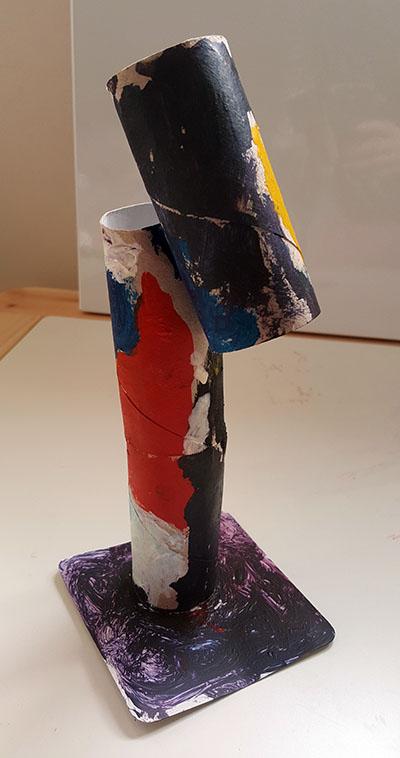 A escultura inspirada nas obras de Joan Miró