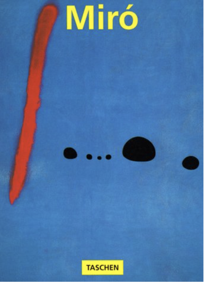 Livro sobre Miró da editora Taschen